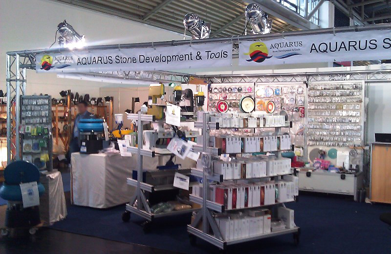 Aquarus Messestand